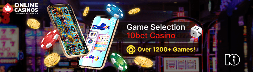 10bet Casino Game Selection