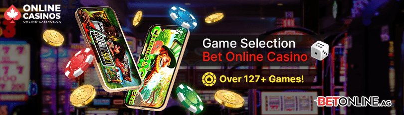 Bet Online Casino Game Selection