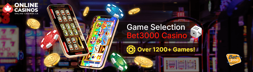 Bet3000 Casino Game Selection