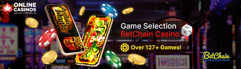 BetChain Casino Game Selection