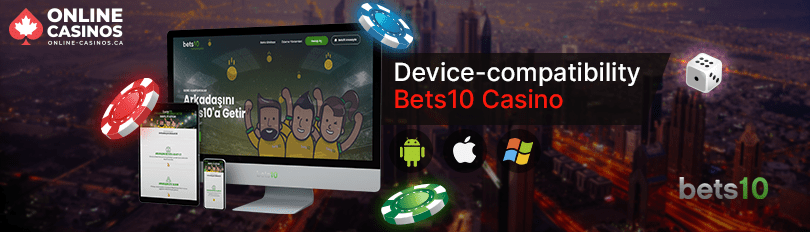 Bets10 Casino Mobile