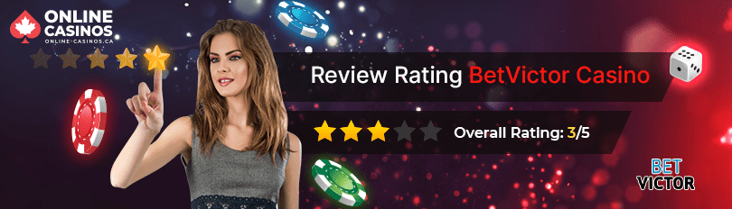 BetVictor Casino Rating