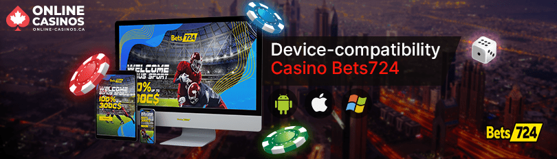 Bets724 Casino Mobile