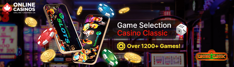 Casino Classic Game Selection