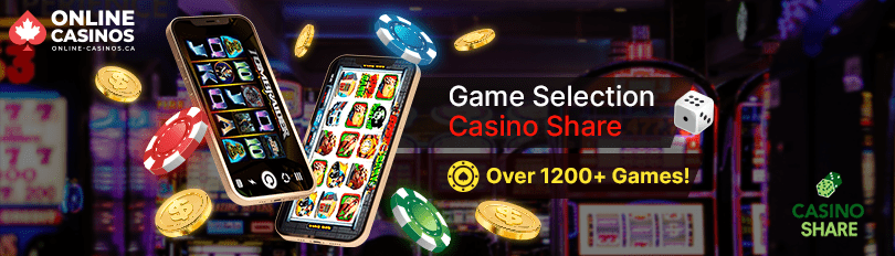 Casino Share Game Selection