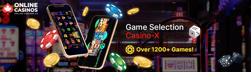 Casino-X Game Selection