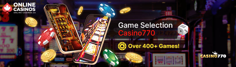 Casino770 Game Selection