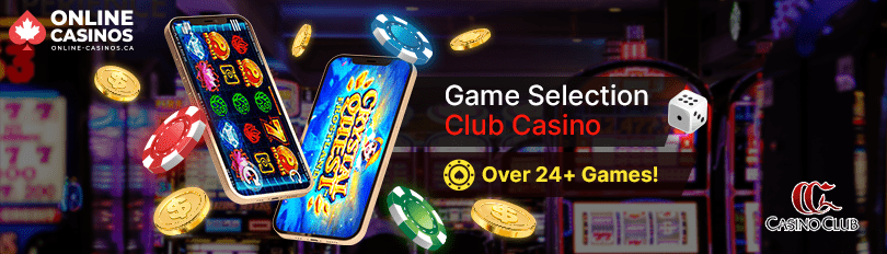 Club Casino Game Selection