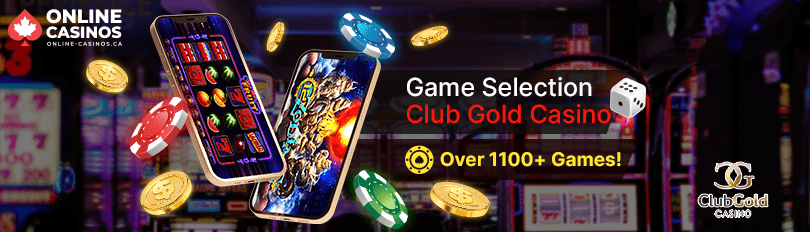 Club Gold Casino Game Selection