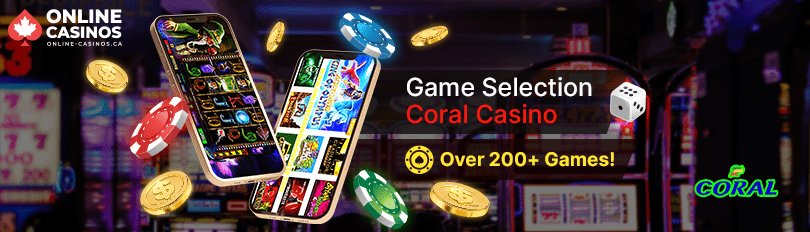 Coral Casino Game Selection