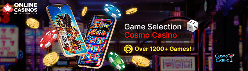 Cosmo Casino Game Selection