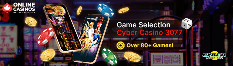 Cyber Casino 3077 Game Selection