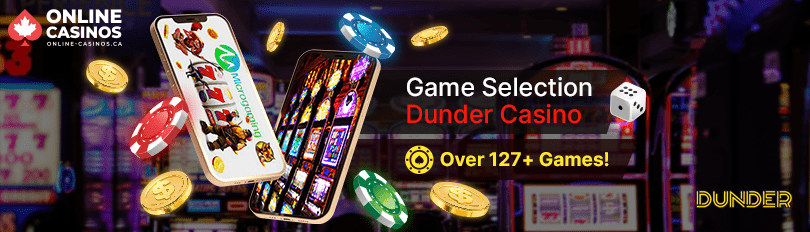 Dunder Casino Game Selection
