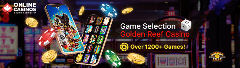 Golden Reef Casino Game Selection