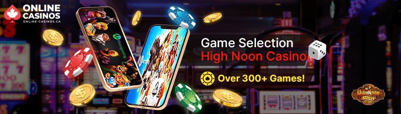 High Noon Casino Game Selection