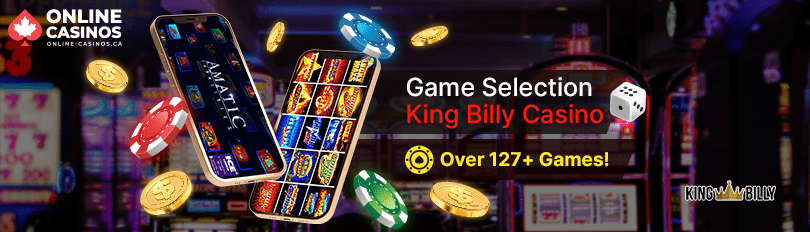 King Billy Casino Game Selection