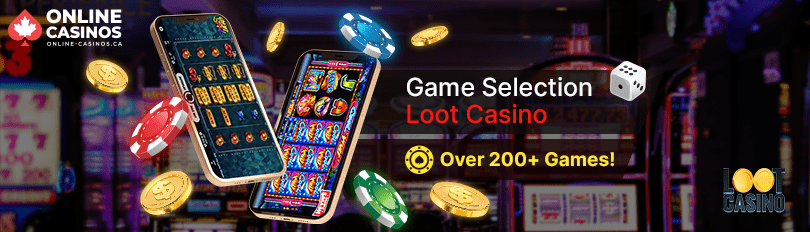 Loot Casino Game Selection