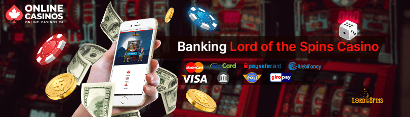 Lord of the Spins Casino Banking