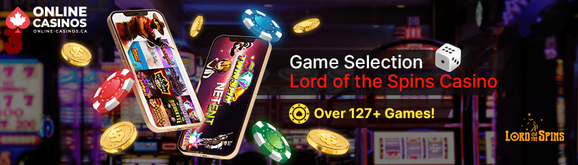 Lord of the Spins Casino Game Selection