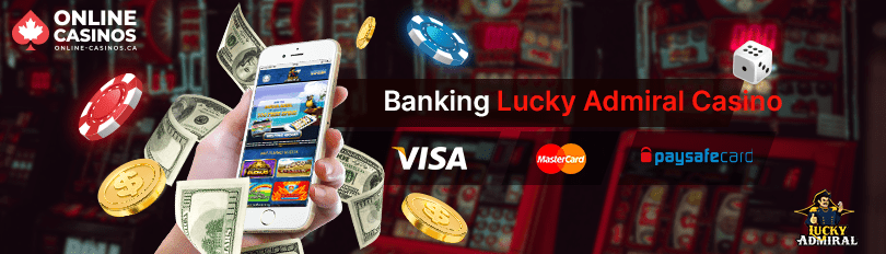 Lucky Admiral Casino Banking