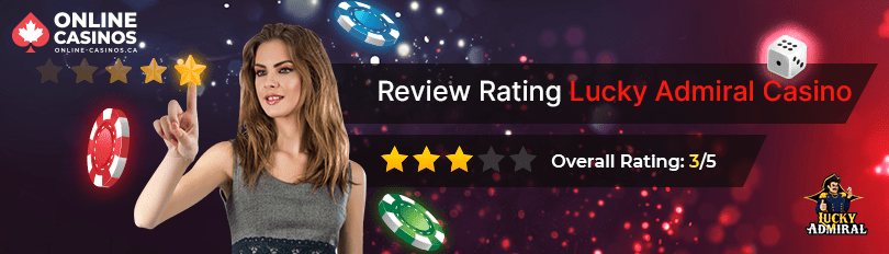 Lucky Admiral Casino Rating