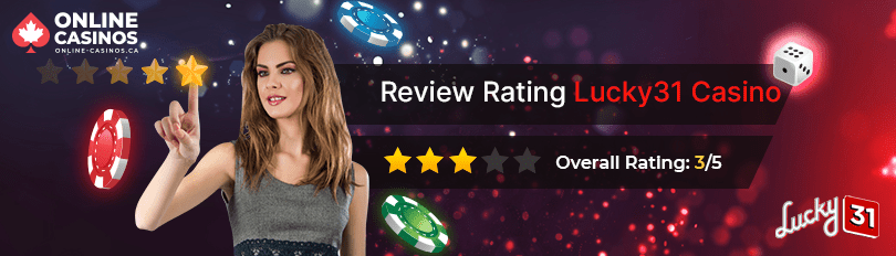 Lucky31 Casino Rating