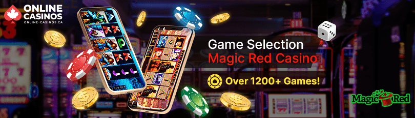 Magic Red Casino Game Selection