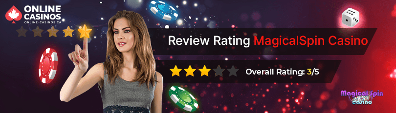 MagicalSpin Casino Rating