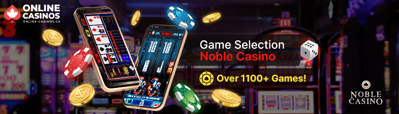 Noble Casino Game Selection