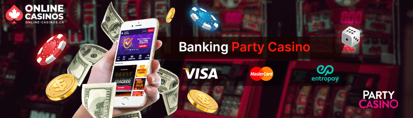 Party Casino Banking