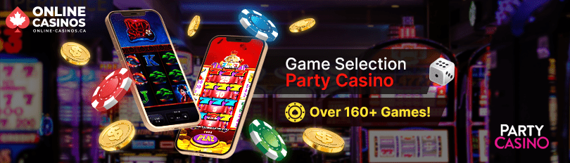 Party Casino Game Selection