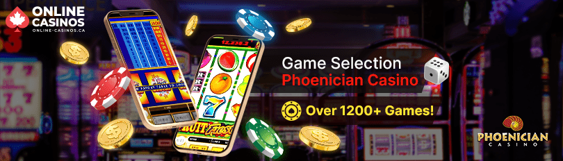Phoenician Casino Game Selection