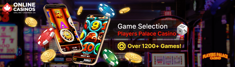 Players Palace Casino Game Selection