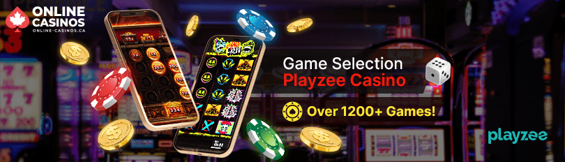 Playzee Casino Game Selection