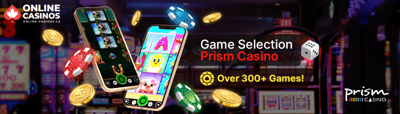 Prism Casino Game Selection