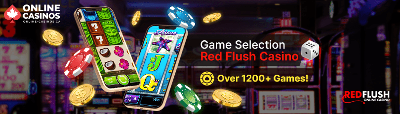 Red Flush Casino Game Selection
