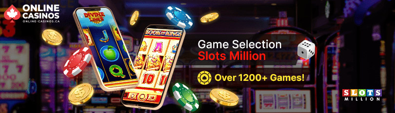Slots Million Game Selection