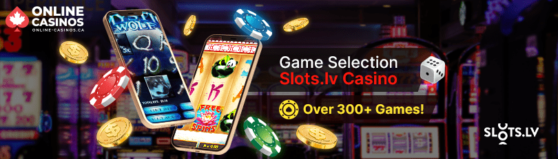 Slots.lv Casino Game Selection