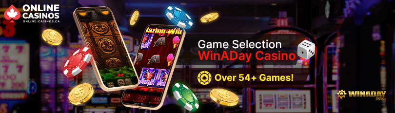 Win A Day Casino Game Selection